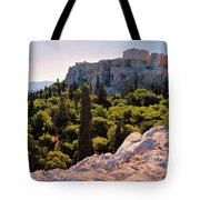 Acropolis In The Morning Light Tote Bag