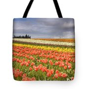 Across Colorful Fields Tote Bag