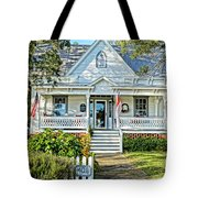 Across From The Harbor Tote Bag