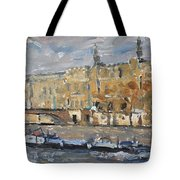 Across  From The Louve Tote Bag