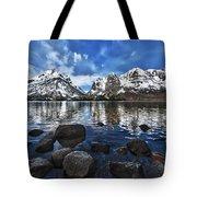 Across Jenny Lake Tote Bag
