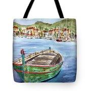 Across The Bay Tote Bag