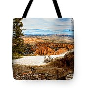 Across The Canyon Tote Bag