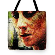 Across The Divide Tote Bag