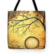 Across The Golden River By Madart Tote Bag