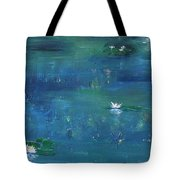 Across The Lily Pond Tote Bag