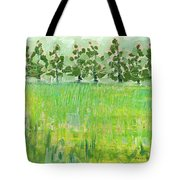 Across The Meadow Tote Bag by Jennifer Lommers