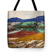 Across The Meadow Tote Bag