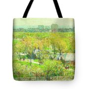 Across The Park Tote Bag