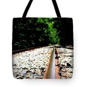 Across The Tracks Tote Bag