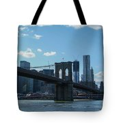 Across To Manhattan New York New York Tote Bag
