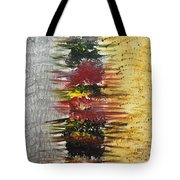 Acrylic Abstract Vertical 15-y.yyy Tote Bag