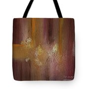 Acrylic Abstract Painting Clouds Tote Bag