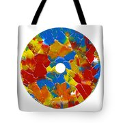 Acrylic  On  Cd  One Tote Bag