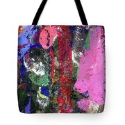 Acrylic Paint Tote Bag