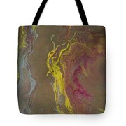 Acrylic Pour 2855 Tote Bag by Sonya Wilson