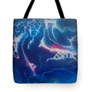 Acrylic Resin Pour Tote Bag
