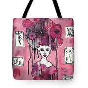 Acrylic Variations Kitri Tote Bag