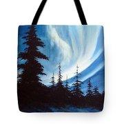Actic Aurora Tote Bag