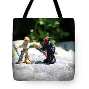 Action Figures Tote Bag