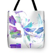Action In Pastel Tote Bag