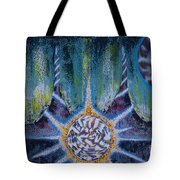 Activating The Ion Shield  Tote Bag