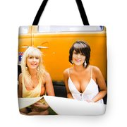 Active Healthy Lifestyle Tote Bag