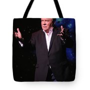 Actor And Comedian William Shatner Tote Bag