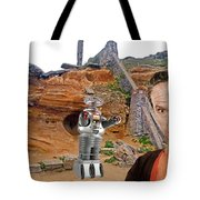 Actor Jonathan Harris As Dr Smith From Lost In Space II Tote Bag