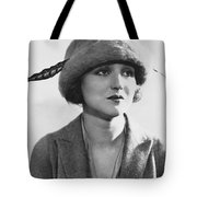 Actress Agnes Ayres Tote Bag