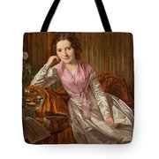 Actress Therese Krones Tote Bag