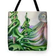 Acts Of Creation Tote Bag