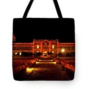 Ad Building Tote Bag