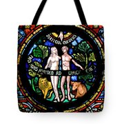 Adam And Eve, Dinant Tote Bag