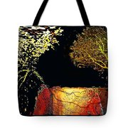 Adam And Eve Were Here. Tote Bag