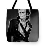 Adam Ant Painting Tote Bag
