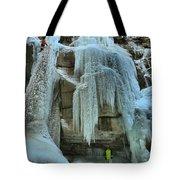 Adam Jewell At Maligne Canyon Tote Bag