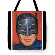 Adam West Is Batman Tote Bag
