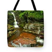 Adams Falls Landscape Tote Bag