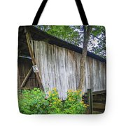 Adams/san Toy Covered Bridge  Tote Bag
