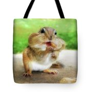 Addicted To Nuts Tote Bag