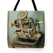 Addressograph Hand Graphotype Tote Bag