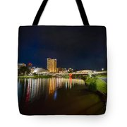 Adelaide Riverbank At Night Vi Tote Bag