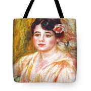Adele Besson 1918 Tote Bag