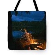 Adirondack Campfire Tote Bag