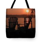 Adirondack Chairs-1 Tote Bag