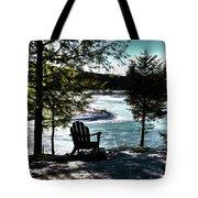 Adirondack Silhouette Tote Bag
