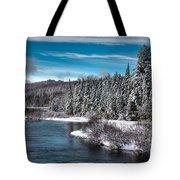 Adirondack Snowfall Tote Bag