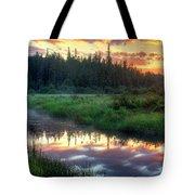 Adirondack Sunrise Tote Bag