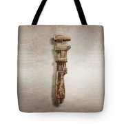 Adjustable Wrench Right Face Tote Bag